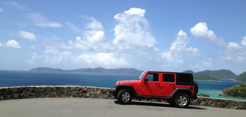 jeep with a view
