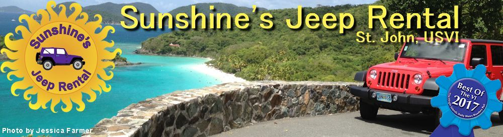 Sunshineu0027s Jeep Rental   St. John, USVI
