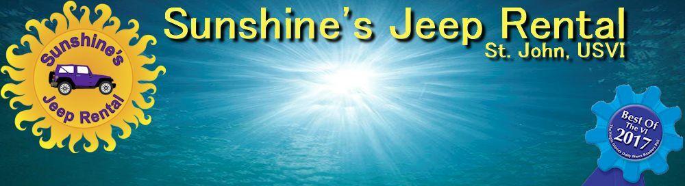 Sunshine's Jeep Rental - St. John, USVI - Contact Us